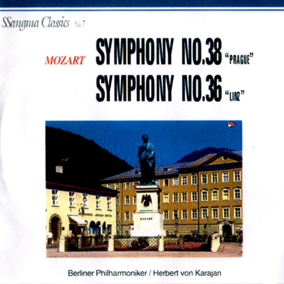 Mozart, Slovak Philharmonic Orchestra, Libor Pešek – Symphonies Nos. 38 & 36