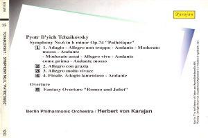 """Tchikovsky Symphony 6 """"Pathetique"""""""