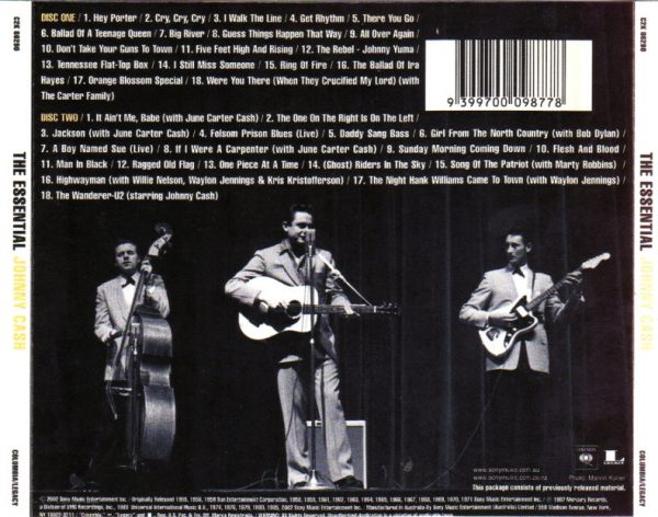 The Essential Johnny Cash track list