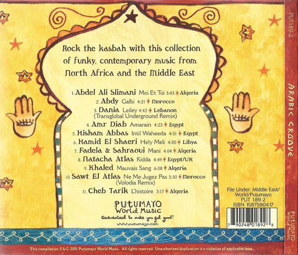 arabic groove track list