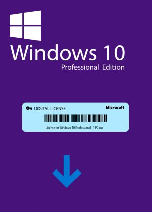 Microsoft Windows 10 Pro | Digital Key